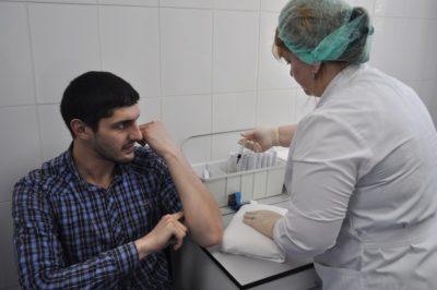 Заражение гепатитом С среди медработников