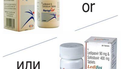 Индийские аналоги препаратов от гепатита С