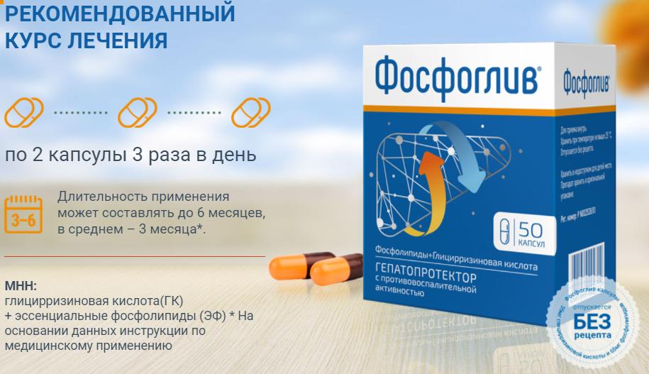 Рекомендованный курс лечения