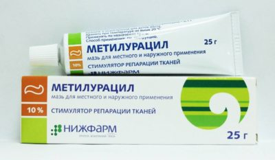 Метилурациловая мазь 10%