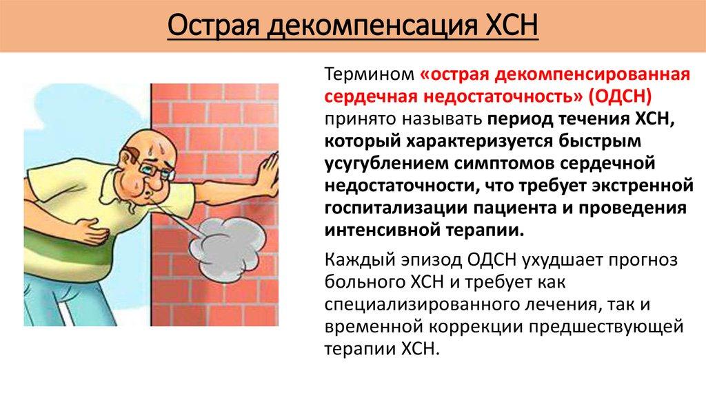 Острая декомпенсация ХСН