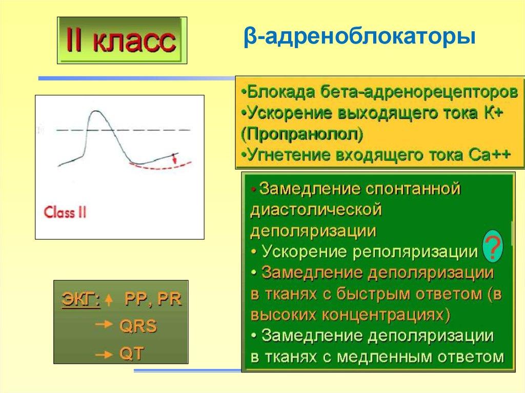 β-адреноблокаторы