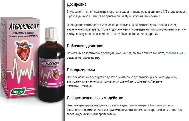 Дозировка и побочные эффекты препарата