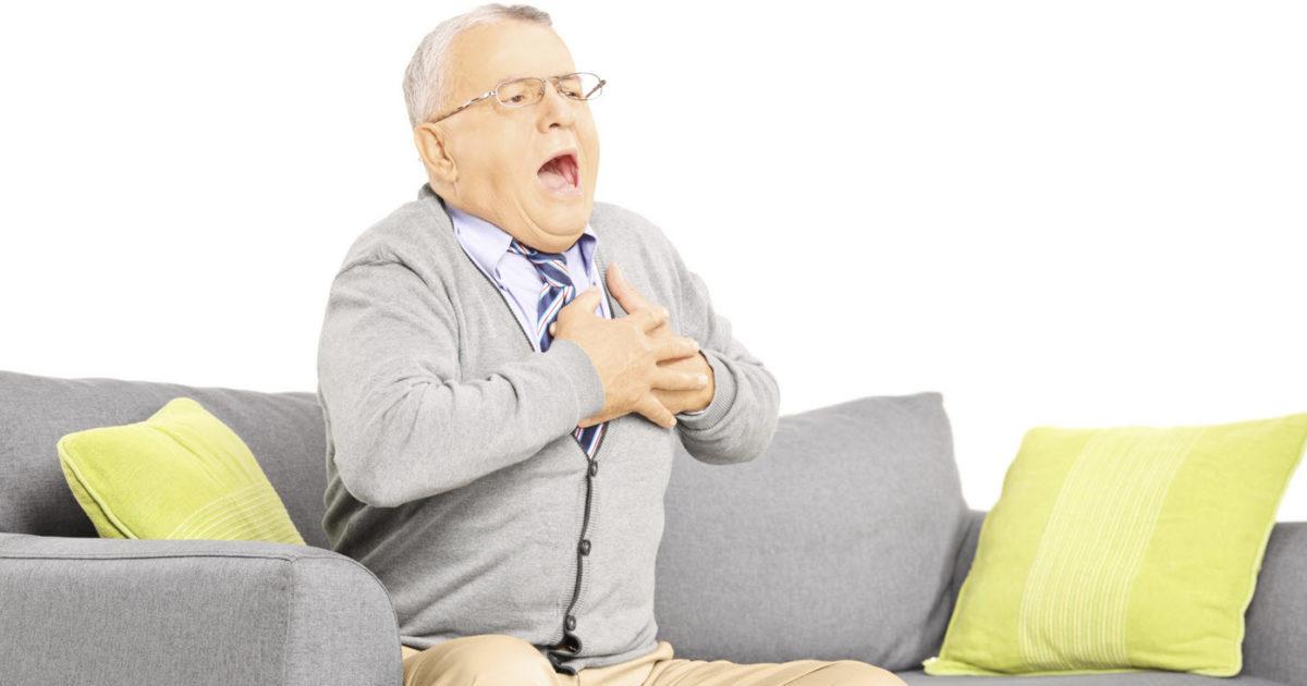Признаки смерти от инфаркта на лице