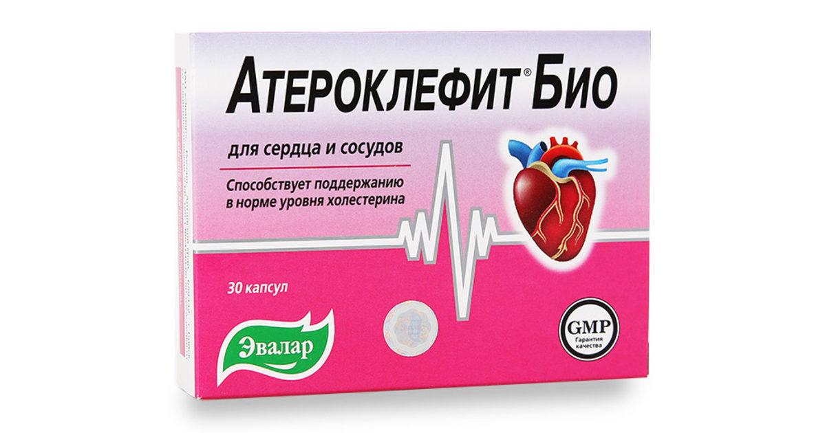 Атероклефит цена в Москве от 241 руб., купить Атероклефит, отзывы и инструкция по применению