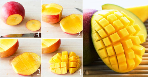 Правила очистки манго