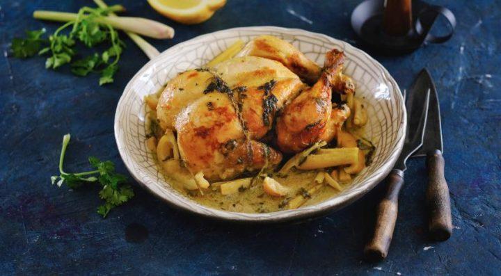 Цитрусовая курица