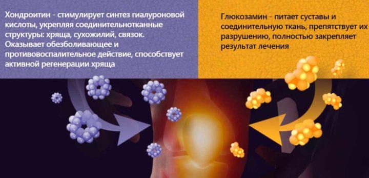 Составляющие препарата