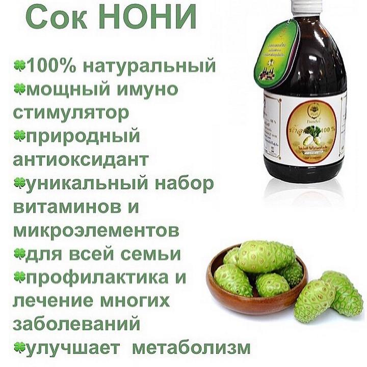 Польза сока