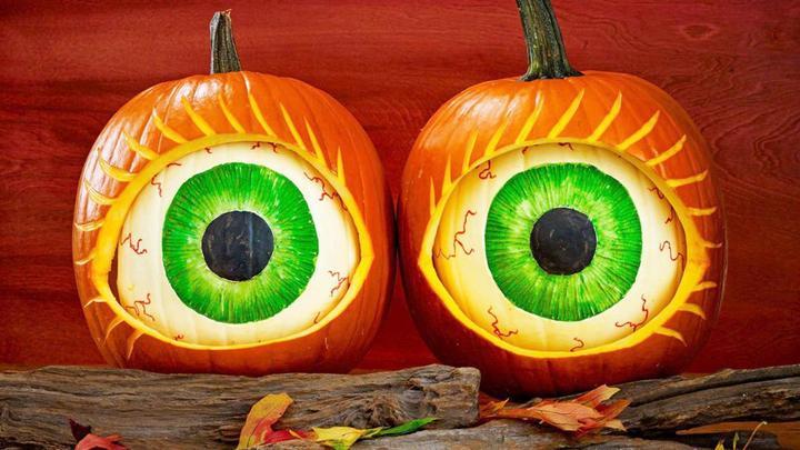 Глаза овощи