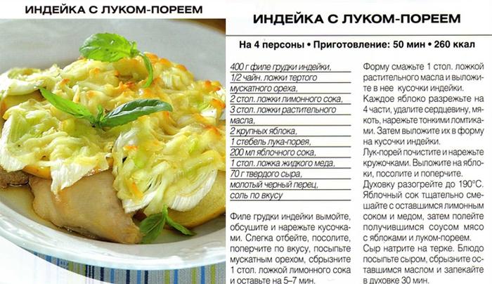 Рецепт блюда