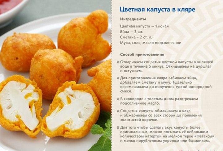 Полезные рецепты