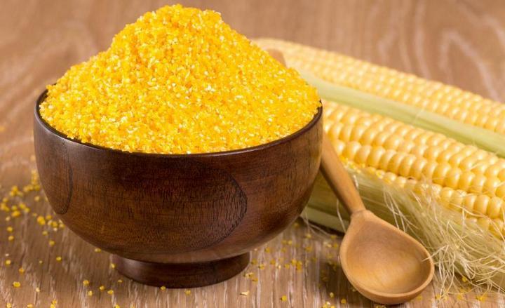 Желтая крупа