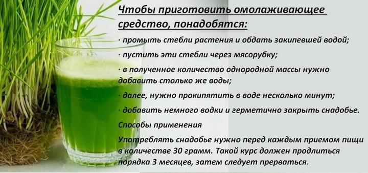 Омолаживающий сок