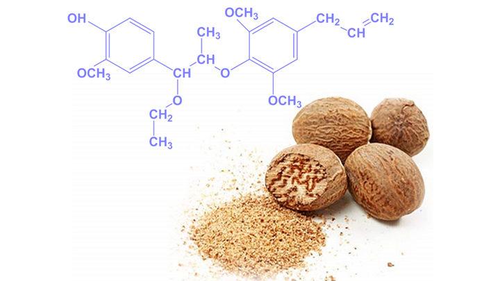 Мускатный орех химический состав