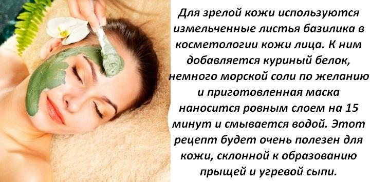 Зеленая маска для кожи