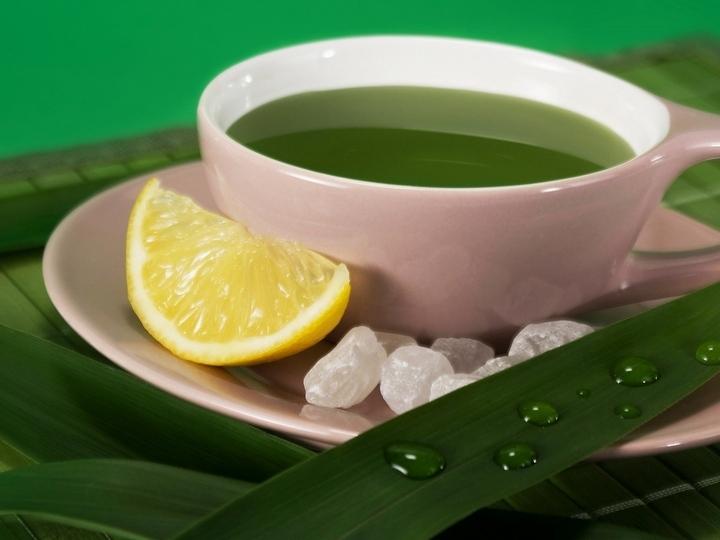 Чашка с лимончиком