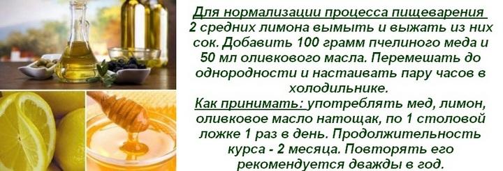 Смесь с маслом и медом