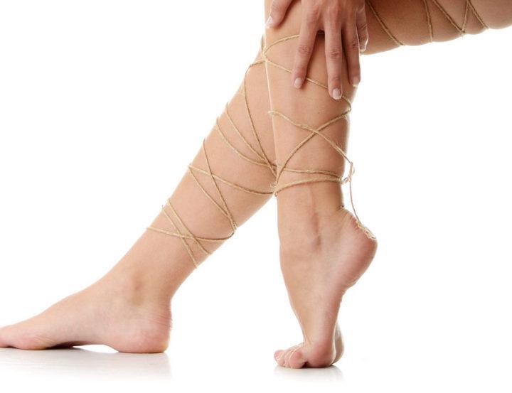 Обвязанные ноги