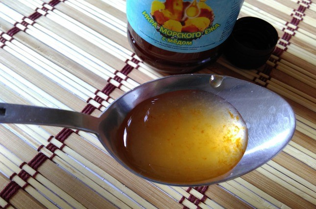 Икра в меду