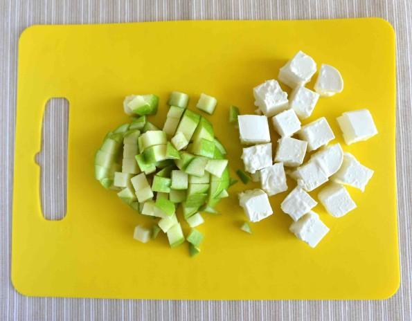 Яблоко и сыр